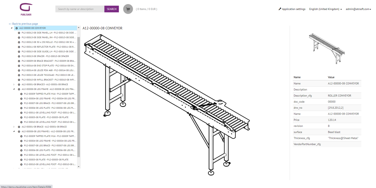 From SOLIDWORKS to Web with CT PUBLISHER